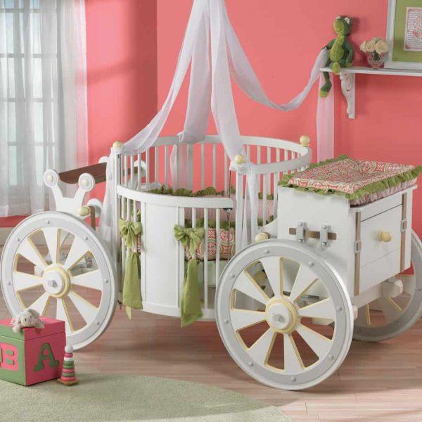 Posh Tots Wagon Crib